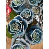 Τριανταφυλλα - triantafilla wax μπλέ