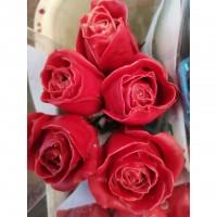 Τριανταφυλλα - triantafilla wax κόκκινο