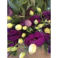 Λουλουδια Χονδρικης - λυσιανθοι μωβ